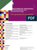 COLPSIC – Condiciones del profesional de la psicología en el campo educativo en Colombia. 'Una aproximación a la realidad', 2020