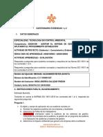 Cuestionario auditoría SGA ajustado