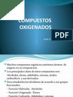 COMPUESTOS OXIGENADOS ALCOHOLES