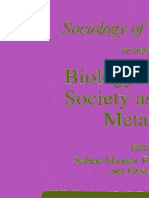 (Sociology of the Sciences 18) Sabine Maasen, Everett Mendelsohn, Peter Weingart (auth.), Sabine Maasen, Everett Mendelsohn, Peter Weingart (eds.) - Biology as Society, Society as Biology_ Metaphors-S.pdf