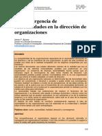 La convergencia de racionalidades en la direccion de las Organizaciones.pdf