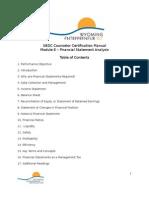 Module 8 Understanding Financial Information