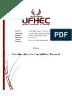 Actividad Introducción a la Contabilidad General SD-20-20031 Jomaira Díaz SD2-20CON-101-7B