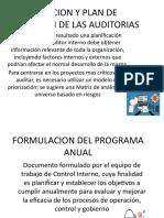 PRIORIZACION Y PLAN DE ROTACION DE LAS AUDITORIAS marcela