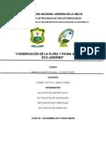 CONSERVACIÓN DE LA FLORA Y FAUNA A TRAVÉS DE ECO JARDÍNES