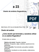 Teo 23 Disenho de analisis