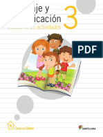 Cuaderno actividades Español 3