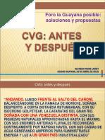 CVG antes y despues-Ing. Alfredo Rivas Lairet.pdf