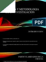 Ciencia y metodologia de la investigacion