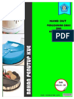 1. hand out penutup cake 2