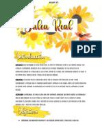 Texto informativo sobre la Jalea Real