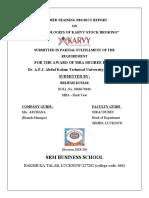 Methodologies of Karvy stock broking.doc