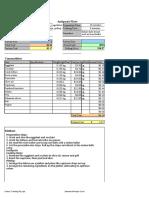 Standard Recipe Card Template(AutoRecovered)