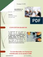 NORMA E.030 INTRODUCCION A LA VIDA UNIVERCITARIA