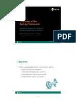 Chp 1 - Overview of Spring Framework Rev H
