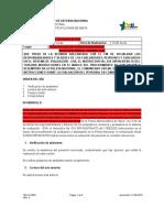 ACTA 0213 INSTRUCCIONES PROCEDIMIENTO DE EVALUACIÓN Y DESEMPEÑO EN LA POLICIA NACIONAL