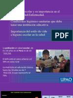 Medio ambiente escolar y su impacto en S-E