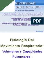 Volúmenes Y Capacidades Pulmonares