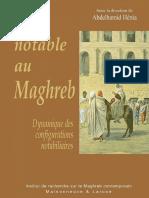 Etre notable au Maghreb - Abdelhamid Henia
