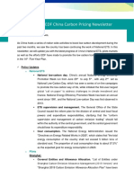 China Carbon Pricing Newsletter Issue No. 3 2020