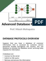 Advanced Database Protocols