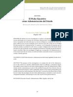 El poder ejecutivo como administracion del estado.pdf
