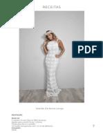 Vestido de noiva Longo Círculo