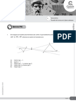 Guía 12 - Ecuación de la recta en el plano cartesiano