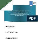 5. Programa de Enseñanza Escrito