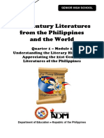 21st Century Literature11_Q1_Mod1_Understanding Literary History and Appreciating 21st Century Literatures of the Philippines_Version 3.pdf