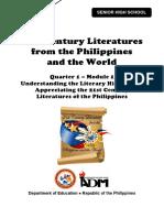21st Century Literature11_Q1_Mod1_Understanding Literary History and Appreciating 21st Century Literatures of the Philippines_Version 3.pdf