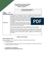 UNIDAD DE APRENDIZAJE - 6° Y 7° (1)