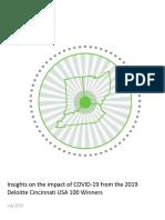 Deloitte COVID-19 Survey Findings 2020