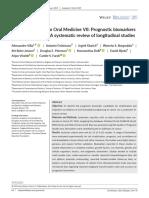 2019 World Workshop on Oral Medicine VII Prognostic biomarkers in OLK