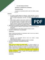 CONSTRUCCION DE CRITERIOS