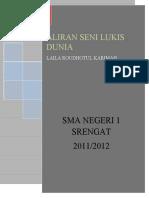 ALIRAN SENI LUKIS