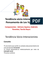 Tendência sócio-interacionista2