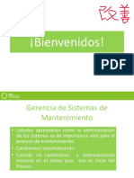 GERENCIA DE SISTEMAS DE MANTENIMIENTO