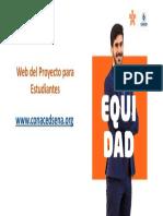 web del proyecto para estudiantes