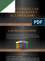 MARX Y ENGELS, LAS ORGANIZACIONES Y EL