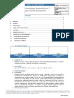 SGU-MTNPR-01 Mantenimiento y preservacion de planta