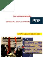 Los sectores emergentes