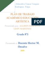 ACTIVIDAD ARTES - ALLISON LEON.docx