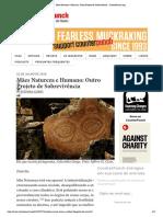 Mães Natureza e Humano_ Outro Projeto de Sobrevivência - CounterPunch.org