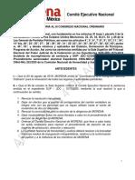 Convocatoria Al III Congreso Nacional Ordinario -1 (1)