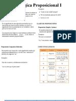 Lógica Proposicional I SECUNDARIA SEMANA 1 ALGEBRA.pptx