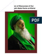 A Collection of Discourses of Our Master Shaykh Abdul Kerim al-Kibrisi(R)