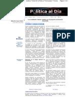 17-01-11 Los resultados claman cambios en el Proyecto Nacional de Desarrollo