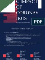 Economic Impact of Coronavirus by Slidesgo