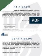 Certificado NR-12